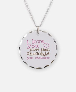 Love Chocolate Necklace