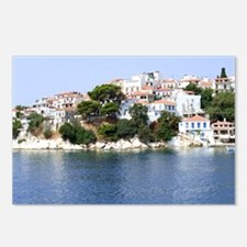 Skiathos Island, Greece Postcards (Package Of 8) P