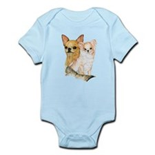 Chihuahua Pair Infant Bodysuit