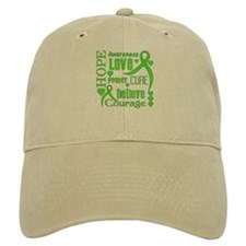 Lyme Disease Hope Words Baseball Cap