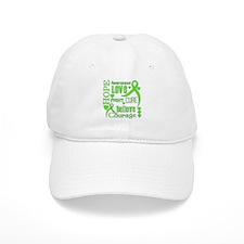 Lyme Disease Hope Words Baseball Cap