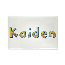 Kaiden Giraffe Rectangle Magnet