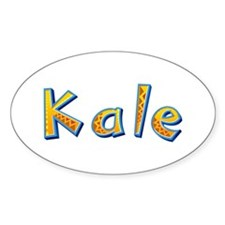 Kale Giraffe Oval Decal
