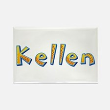 Kellen Giraffe Rectangle Magnet