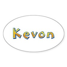 Kevon Giraffe Oval Decal