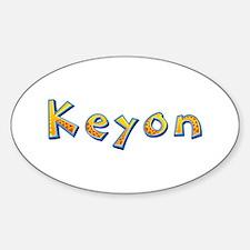 Keyon Giraffe Oval Decal
