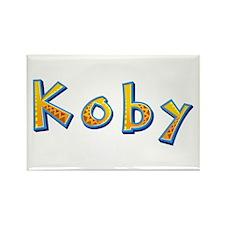 Koby Giraffe Rectangle Magnet