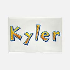 Kyler Giraffe Rectangle Magnet