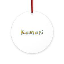 Kamari Giraffe Round Ornament