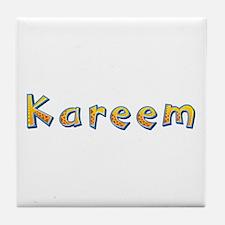 Kareem Giraffe Tile Coaster