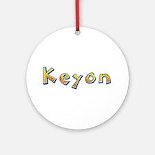 Keyon Giraffe Round Ornament