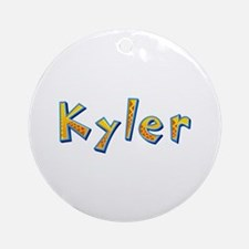 Kyler Giraffe Round Ornament