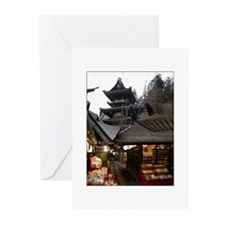 "Greeting Cards - ""Temple Pagoda"" (Pk of 10)"
