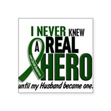 REAL HERO 2 Husband LiC Oval Sticker