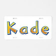 Kade Giraffe Aluminum License Plate