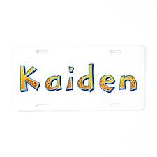 Kaiden Giraffe Aluminum License Plate