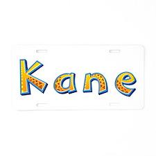 Kane Giraffe Aluminum License Plate