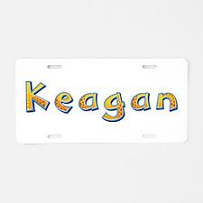 Keagan Giraffe Aluminum License Plate