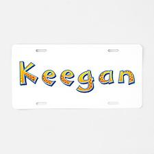 Keegan Giraffe Aluminum License Plate