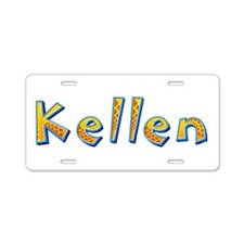 Kellen Giraffe Aluminum License Plate