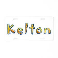 Kelton Giraffe Aluminum License Plate