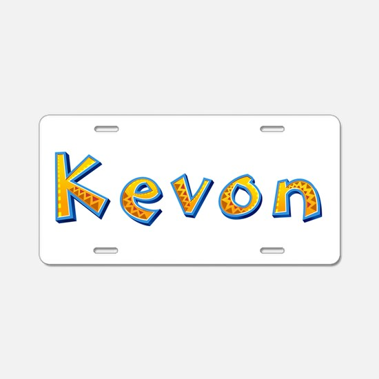 Kevon Giraffe Aluminum License Plate