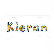 Kieran Giraffe Aluminum License Plate