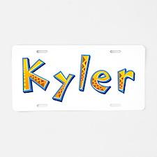 Kyler Giraffe Aluminum License Plate