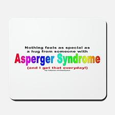 Asperger Hug Mousepad