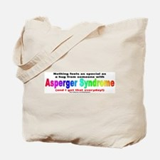 Asperger Hug Tote Bag
