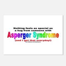 Asperger Hug Postcards (Package of 8)