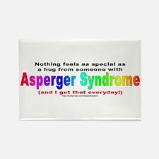 Asperger Hug Rectangle Magnet