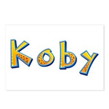 Koby Giraffe Postcards 8 Pack