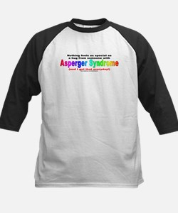Asperger Hug Kids Baseball Jersey