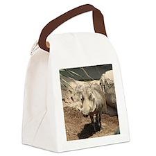 Warthog Grin Canvas Lunch Bag