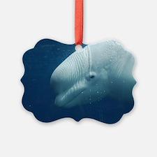 White Whale Ornament