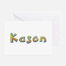 Kason Giraffe Greeting Card