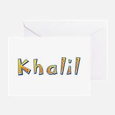 Khalil Giraffe Greeting Card