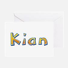 Kian Giraffe Greeting Card