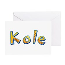 Kole Giraffe Greeting Card 10 Pack