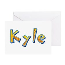 Kyle Giraffe Greeting Card