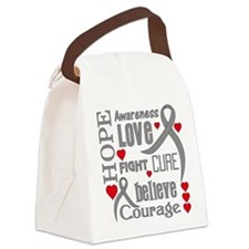 Parkinsons Disease Hope Canvas Lunch Bag