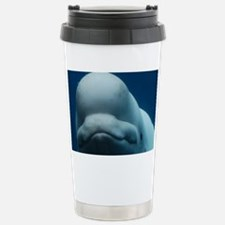 Sweet Beluga Whale Stainless Steel Travel Mug