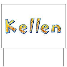 Kellen Giraffe Yard Sign