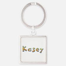 Kasey Giraffe Square Keychain