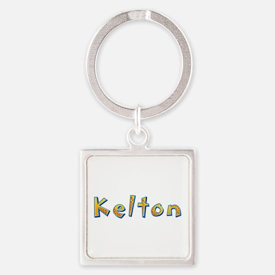 Kelton Giraffe Square Keychain