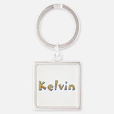 Kelvin Giraffe Square Keychain