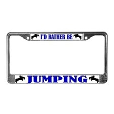 Cool Horses License Plate Frame