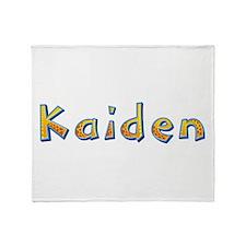 Kaiden Giraffe Throw Blanket