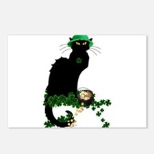 Le Chat Noir, St Patricks Day Postcards (Package o